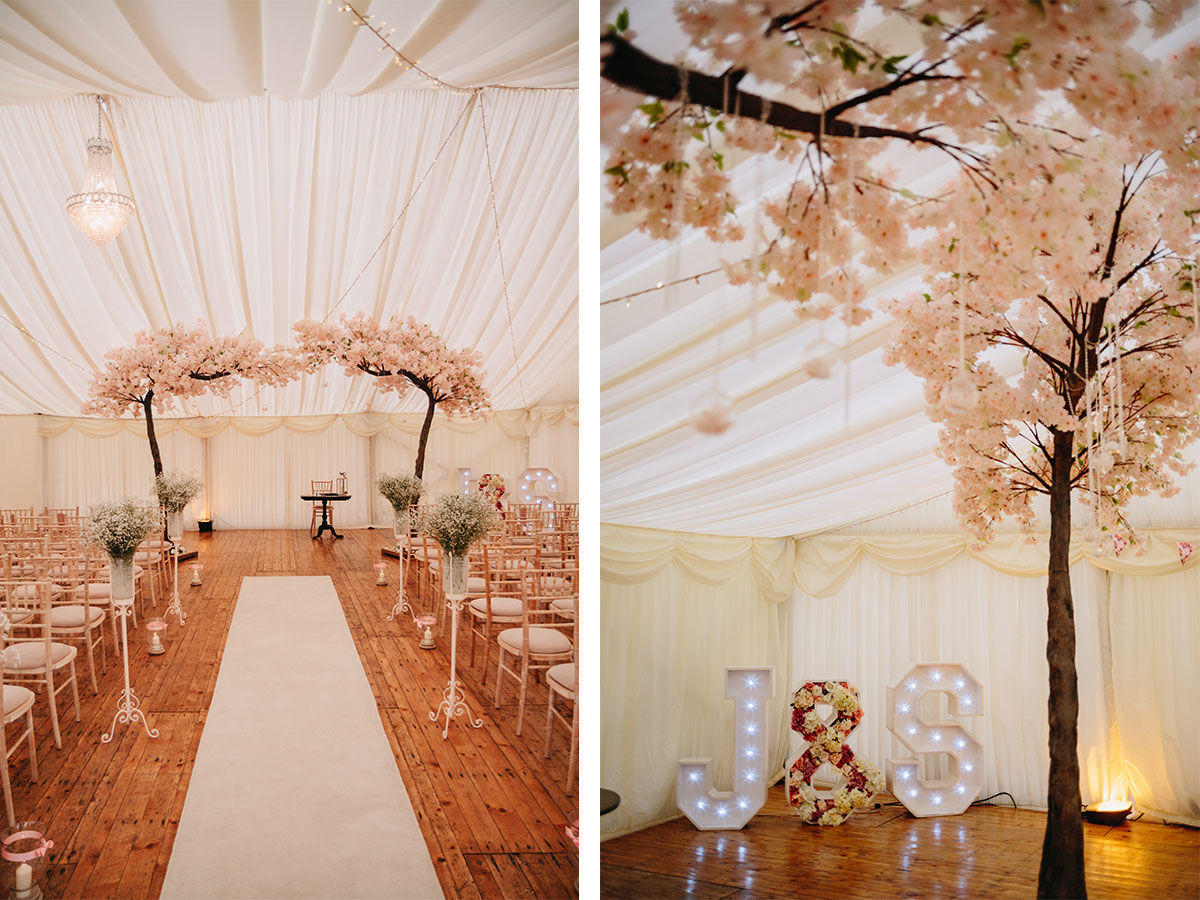 peach-wedding-decor-in-marquee