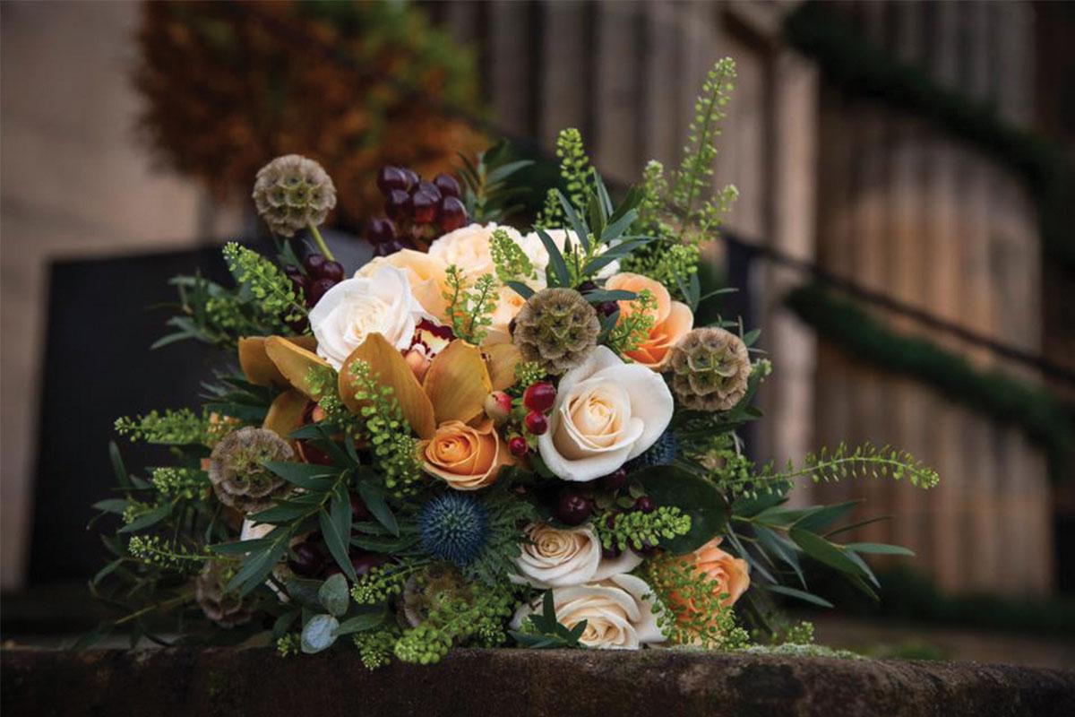 Autumnal bouquet by Jennifer Morrison Florist