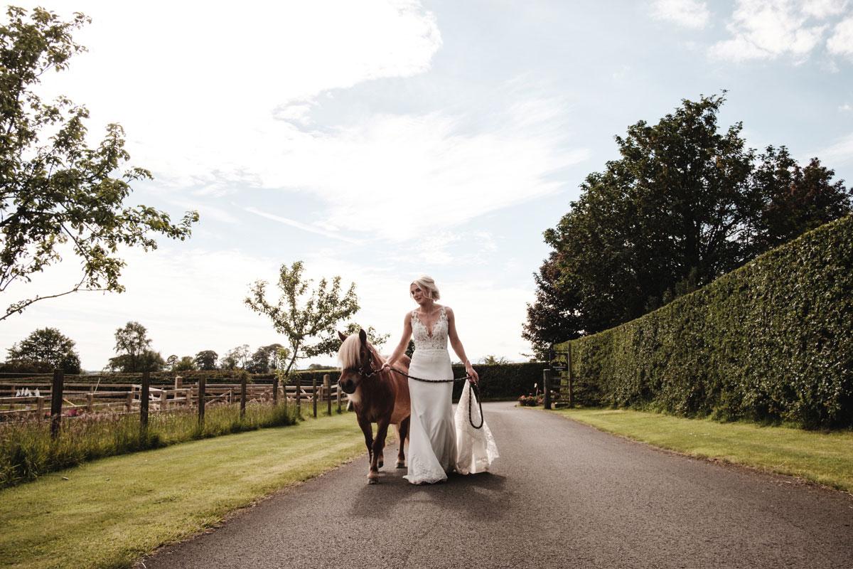 bride-and-shetland-pony