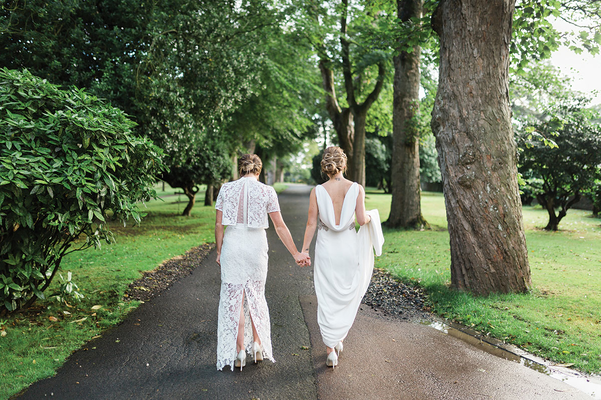 the-brides-walking-down-the-drive