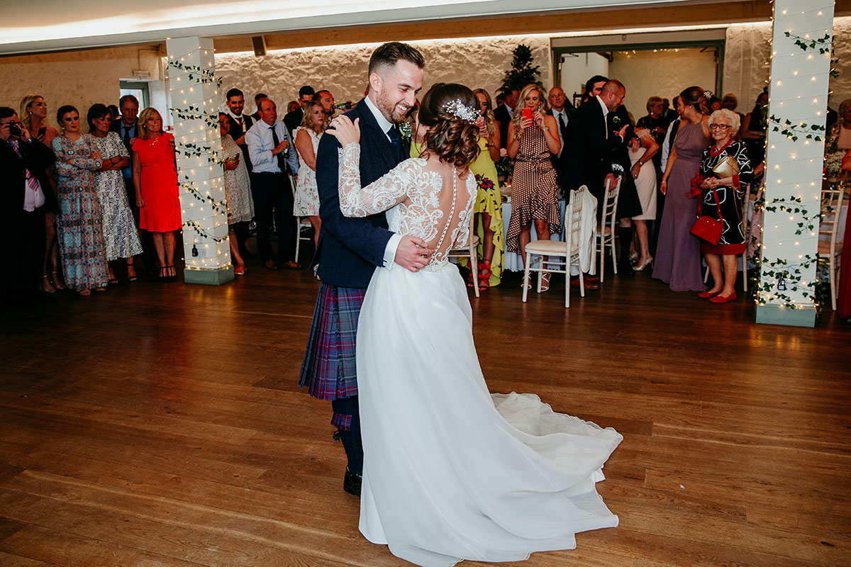 bride-and-groom-during-first-dance