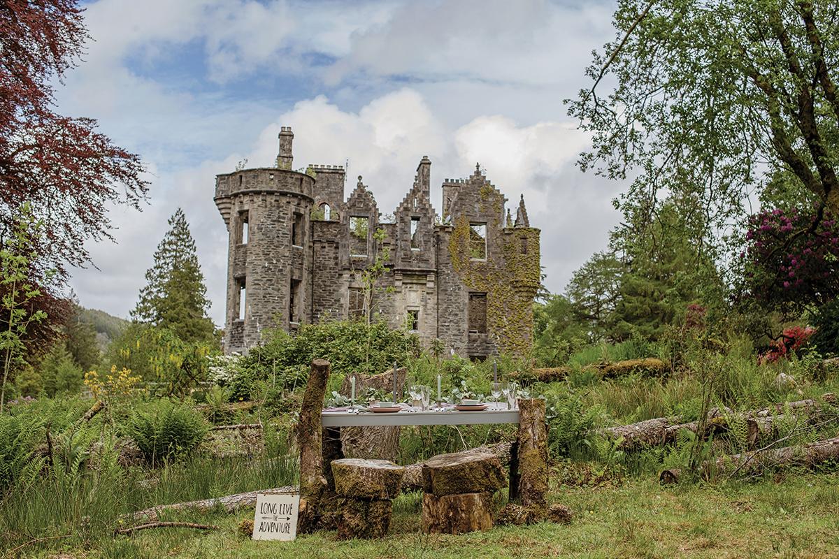 dunans-castle-ruins