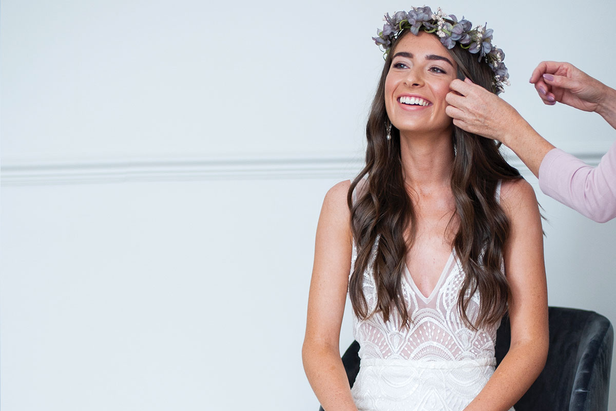 Flower crown from Accessories by Elizabeth Wallace