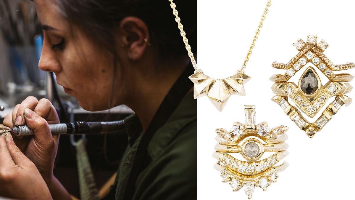 KATIE LEEs Designer and goldsmith, Katie Lees Jewellery