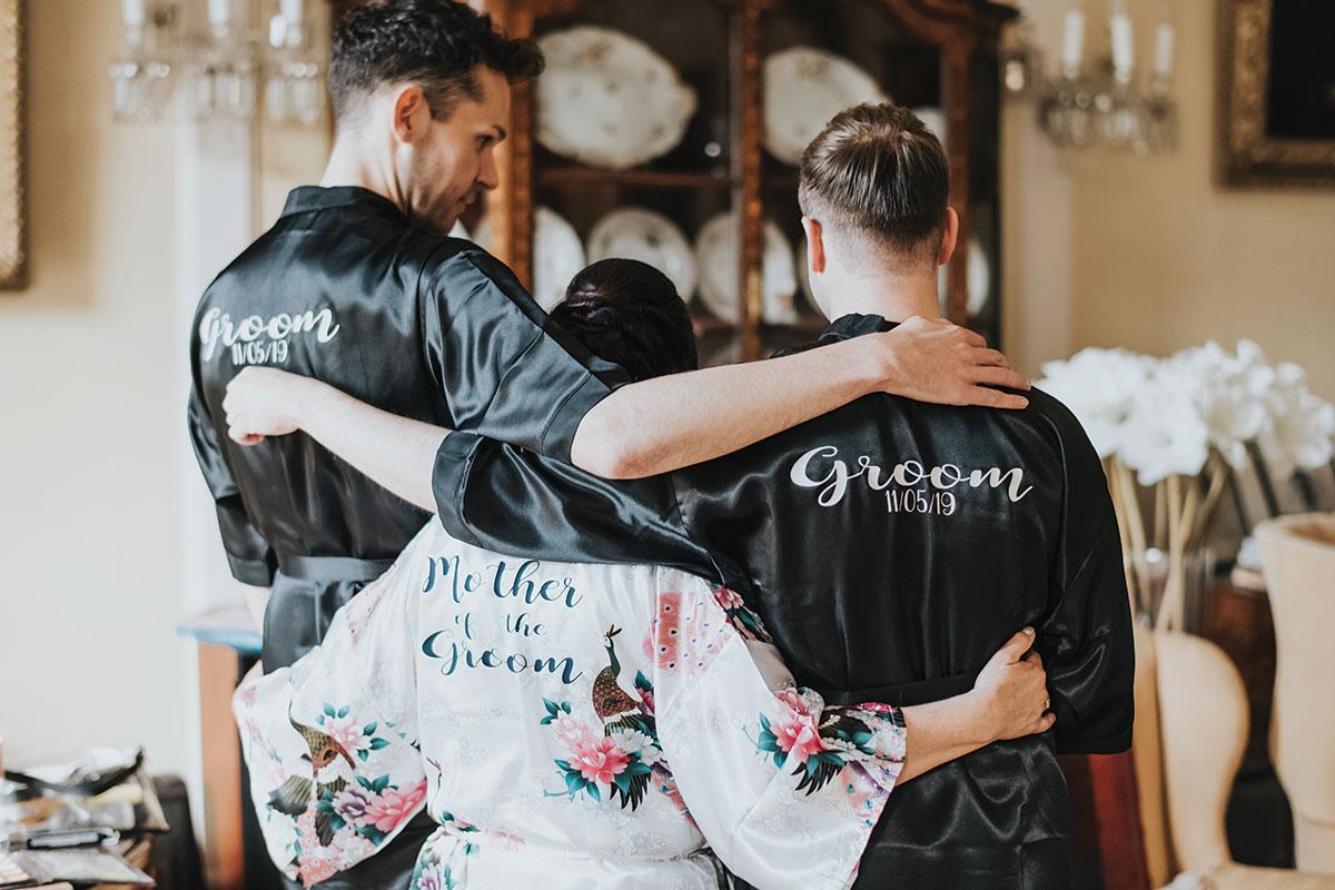 grooms-wearing-matching-robes