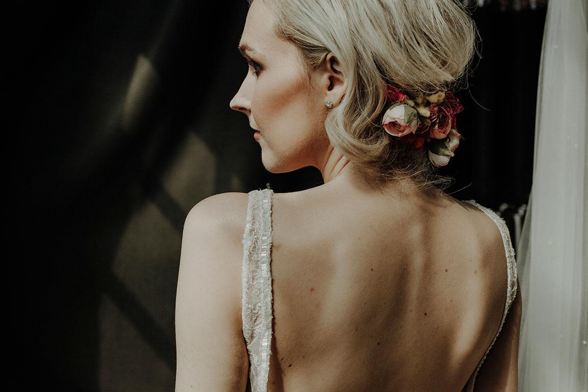 blonde-bride-with-floral-hair-arrangement