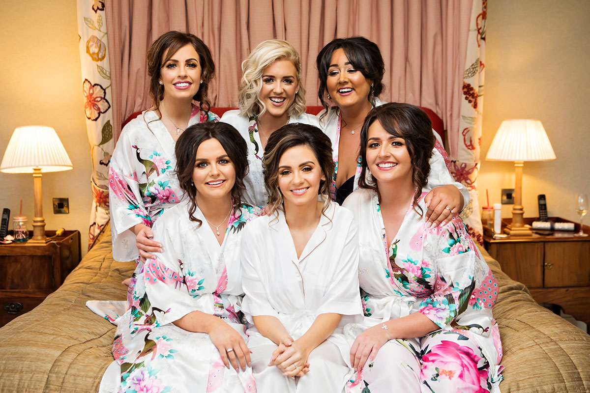 bride-and-bridesmaids-in-matching-floral-robes