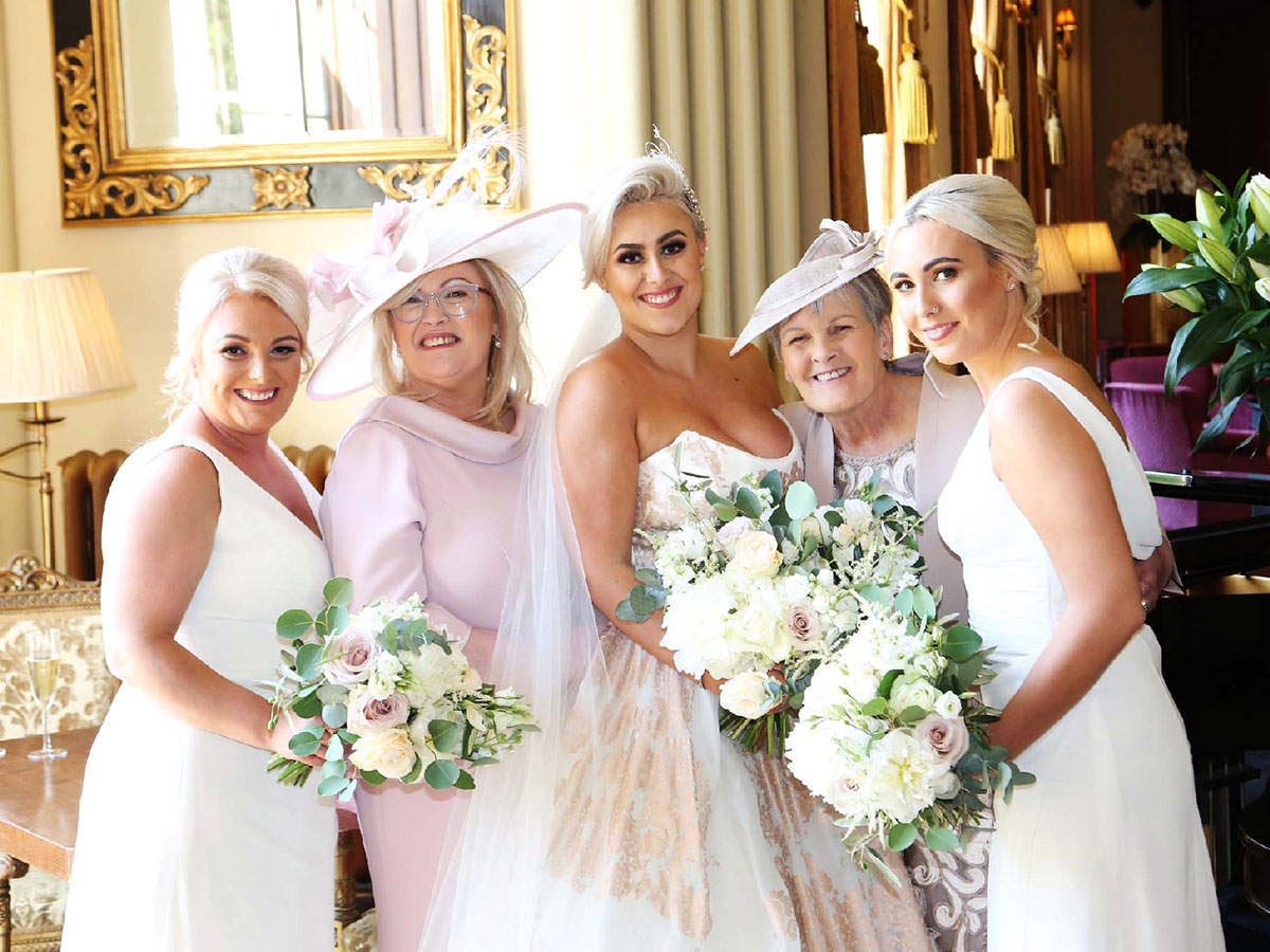 bride-and-female-member-of-the-bridal-party