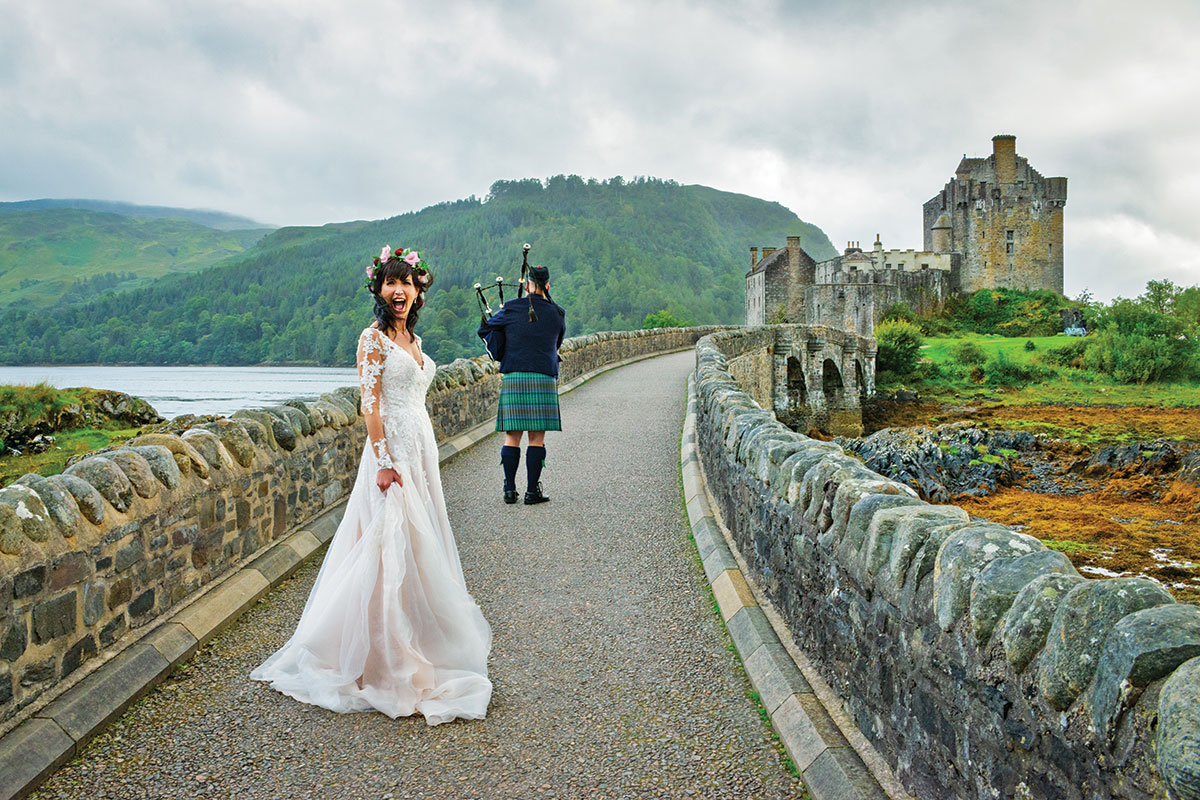 bride-walking-behind-piper