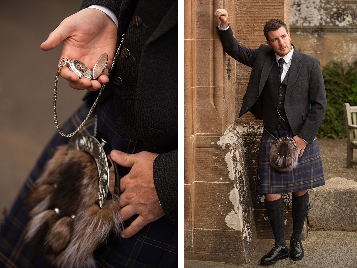 groom-outfit-with-furry-sporran-and-pocketwatch