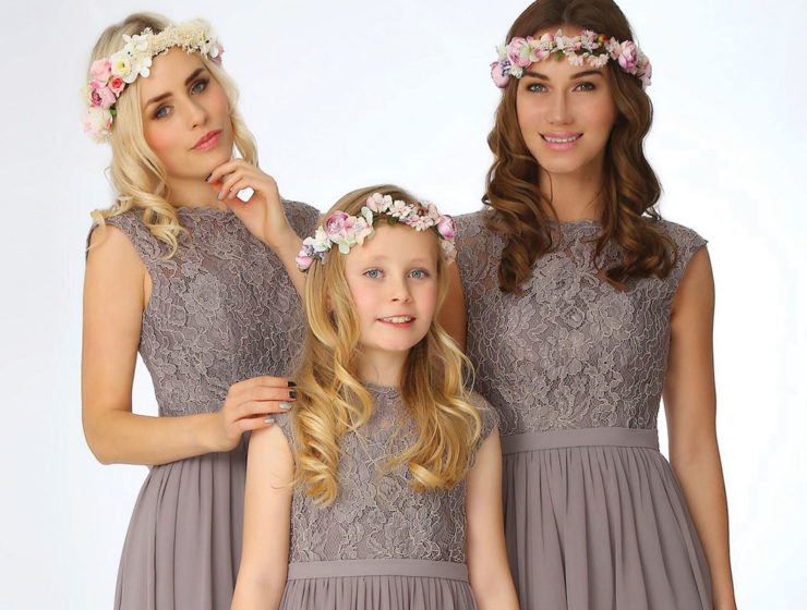 Lanico bridesmaid dresses, available at The Finer Detail