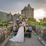 bride-and-groom-outside-eilean-donan