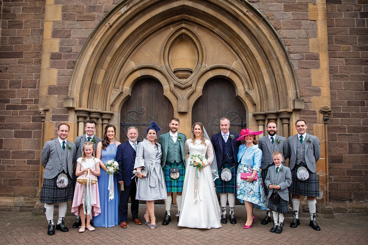 bridal-party-outside-st-marys-cathedral