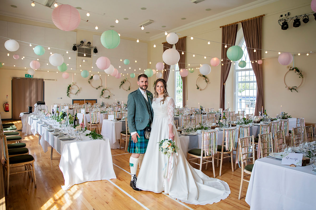 bride-and-groom-in-killearn-village-hall