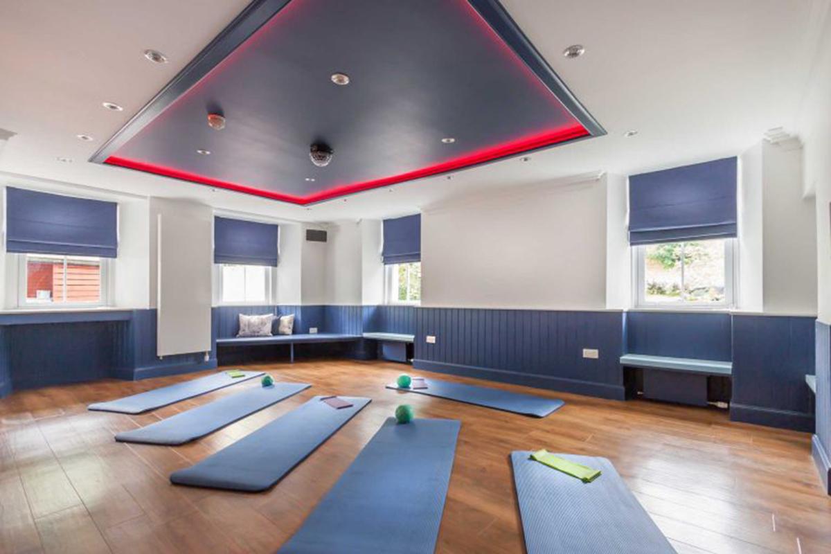 Stucktaymore-Killin-yoga-room