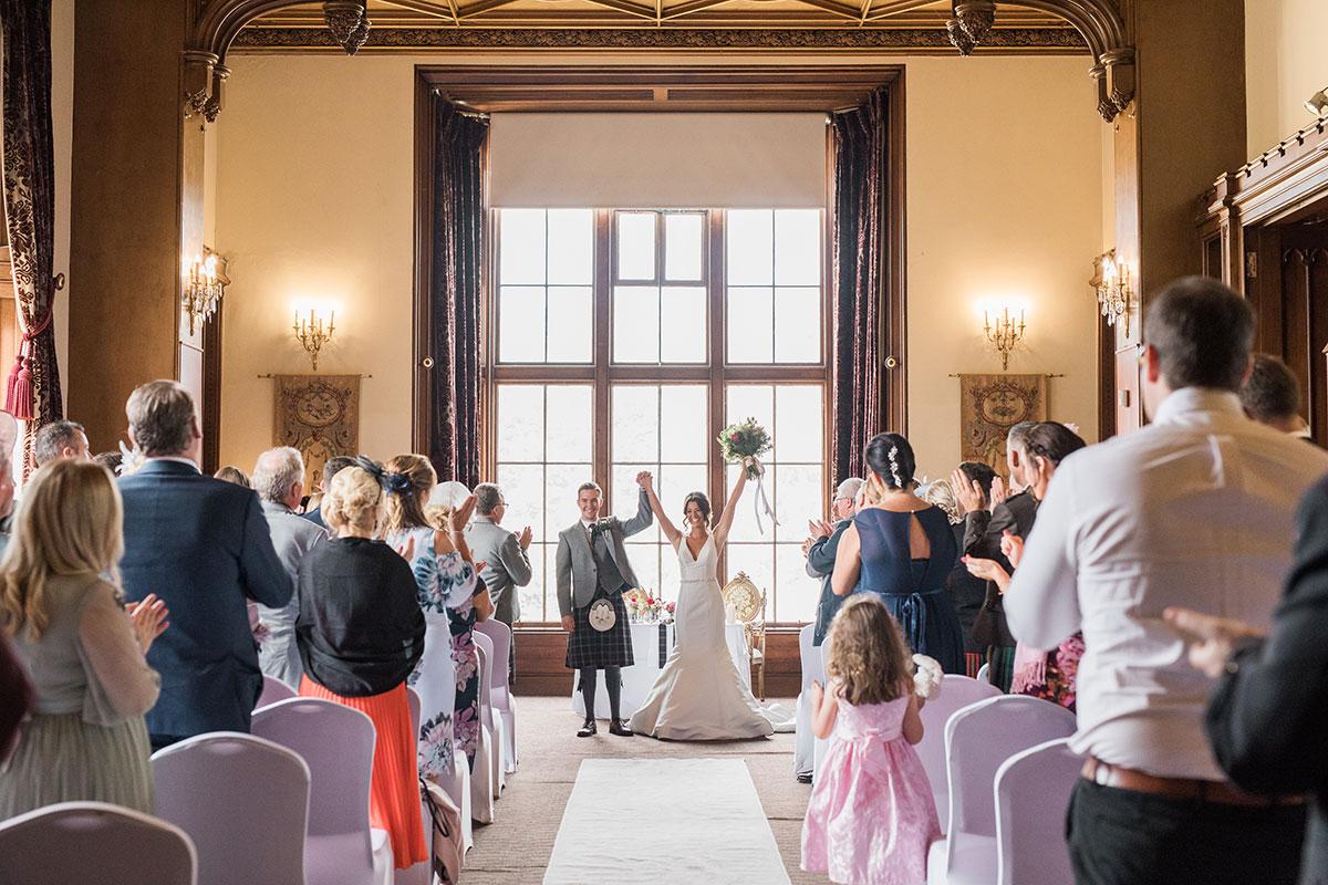 couple-celebrating-after-ceremony