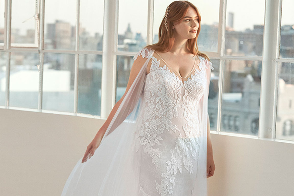 Dehaven gown by Ashley Graham X Pronovias