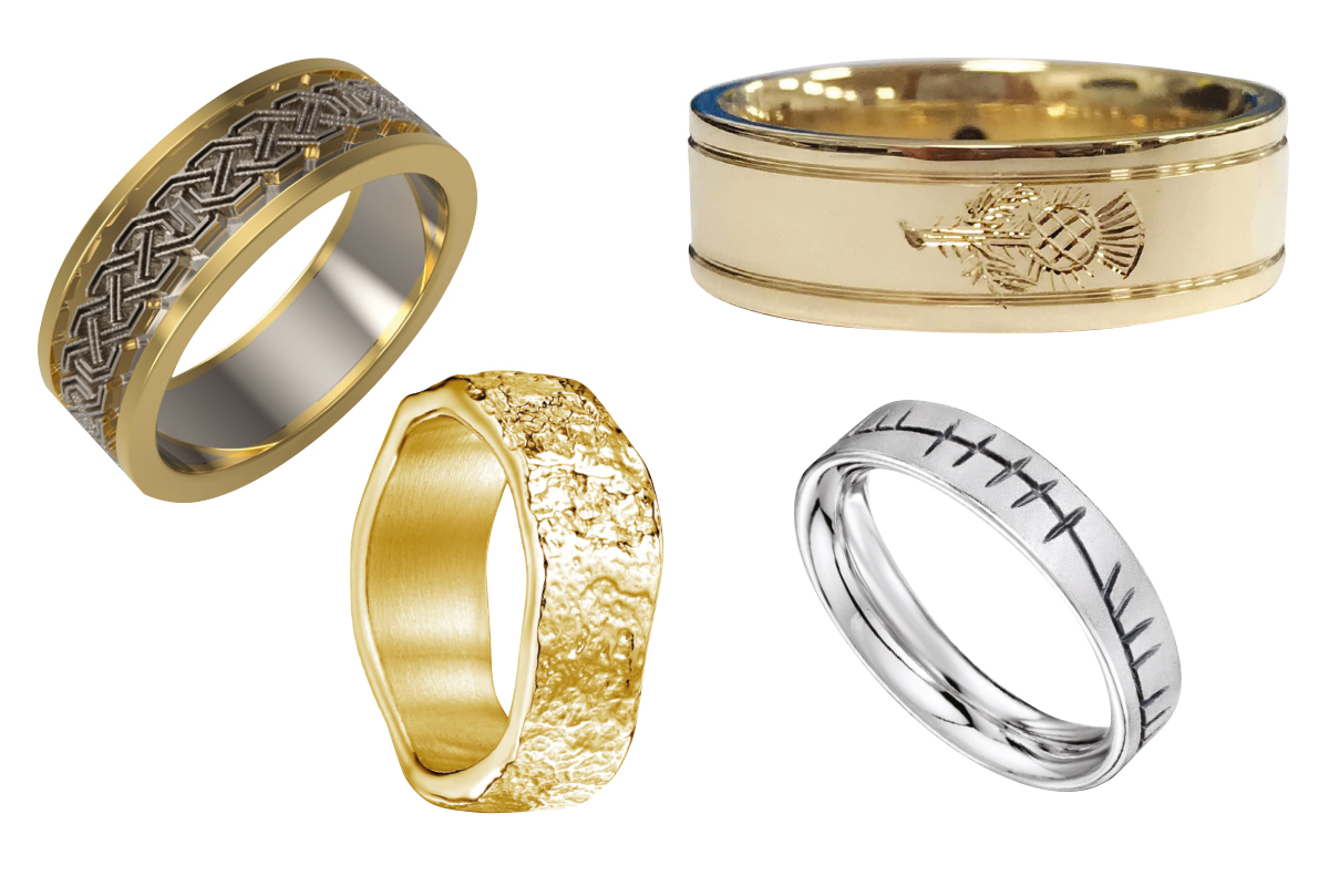four-mens-wedding-rings