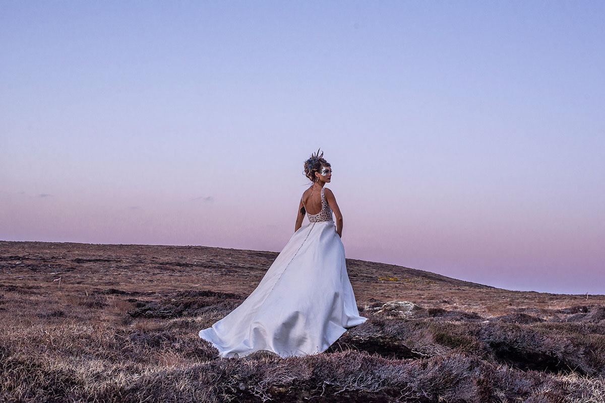 bride-against-pink-sunset-sky