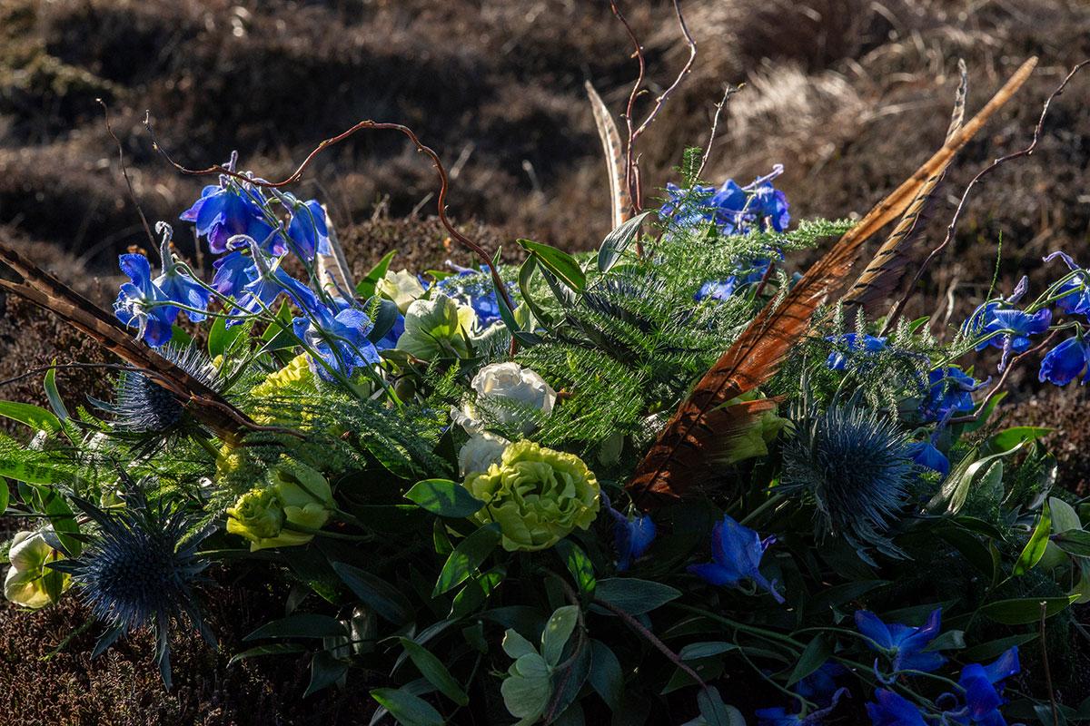 scottish-blue-bridal-bouquet