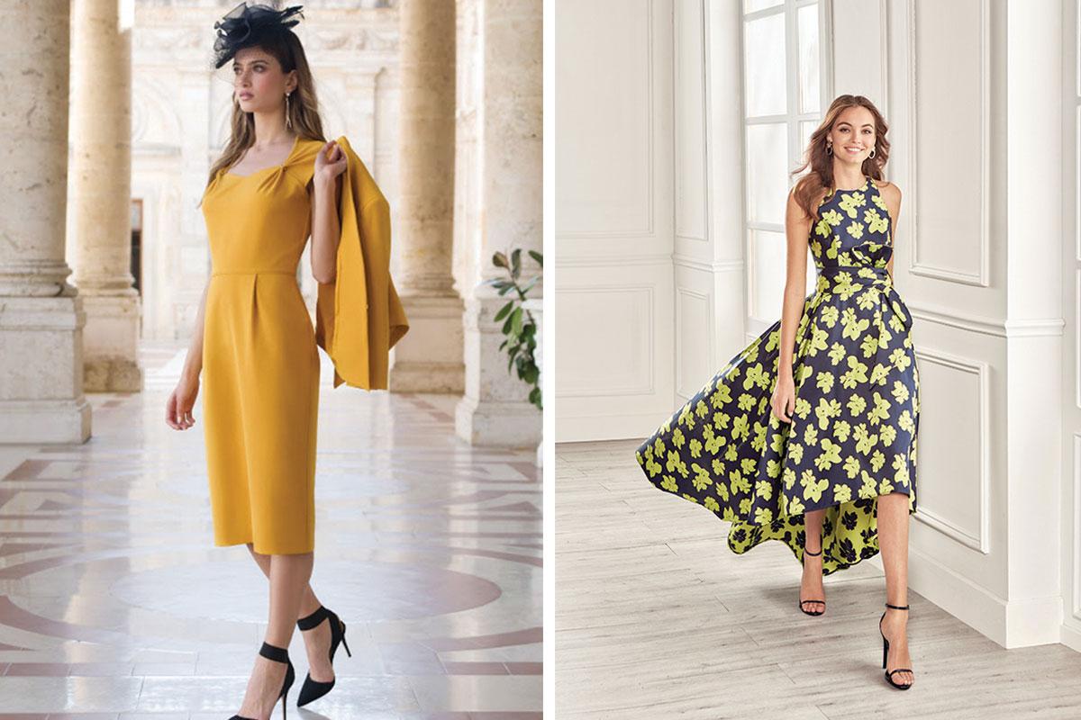 ladies wearing dresses