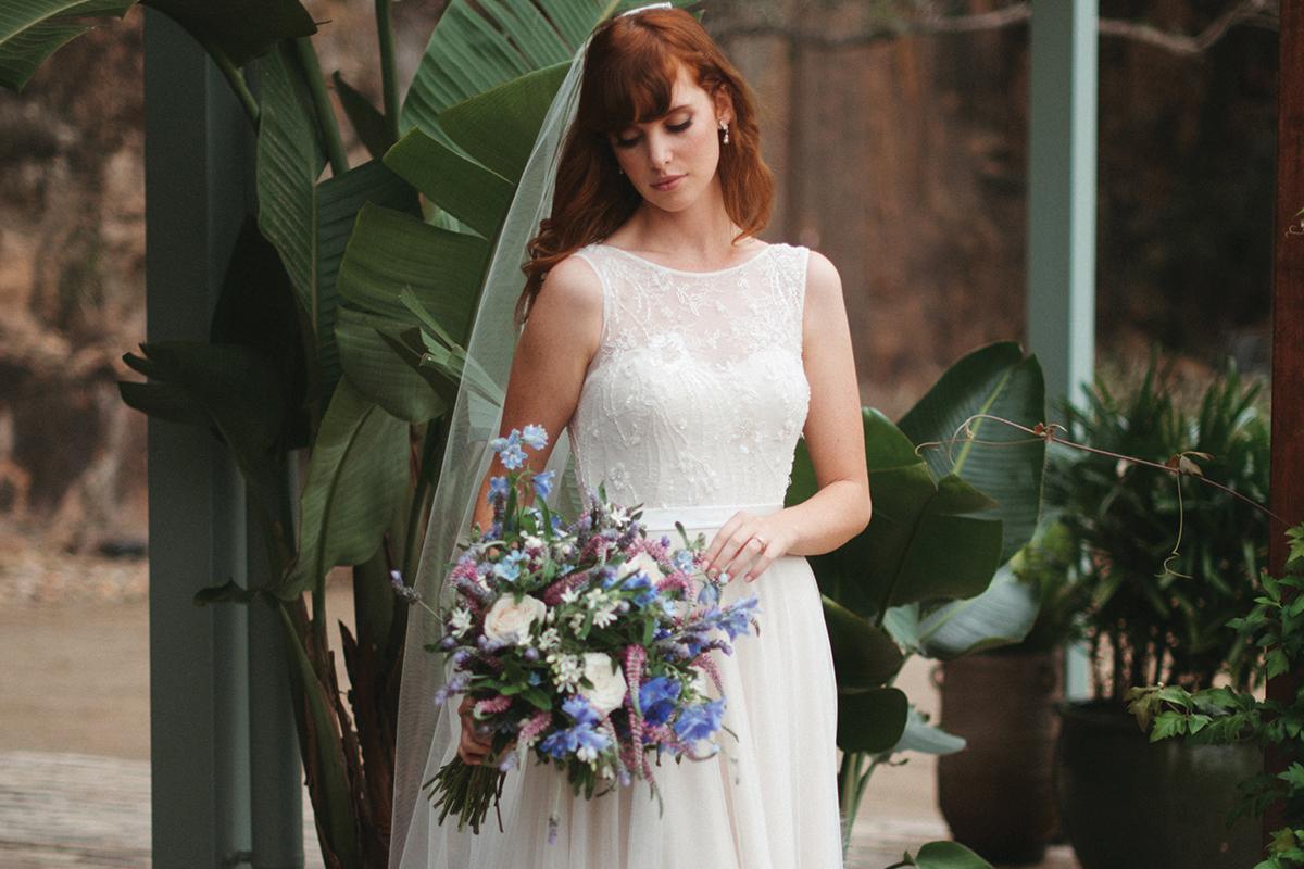 Fleur gown by Wendy Makin