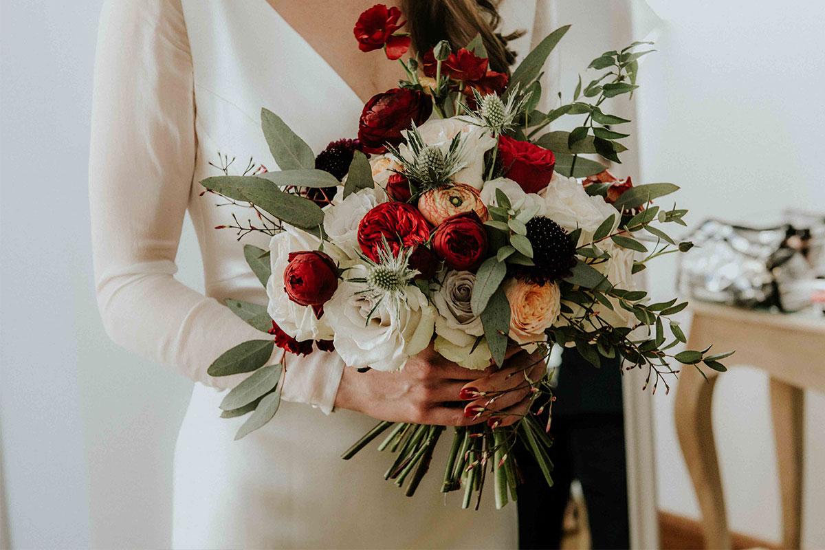 Fleuressence bouquet of rose and ranunuclus