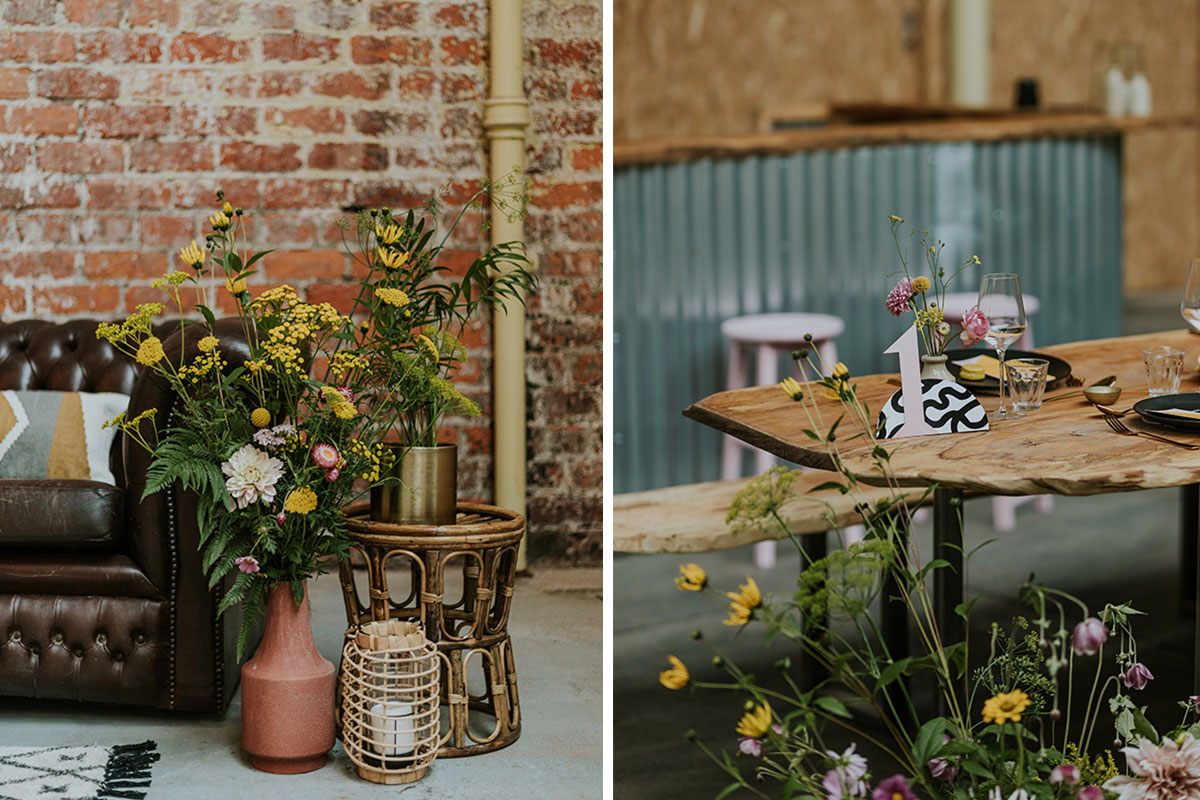 weaving-shed-dundee-wedding-set-up-flowers-chesterfield-sofa_ttk