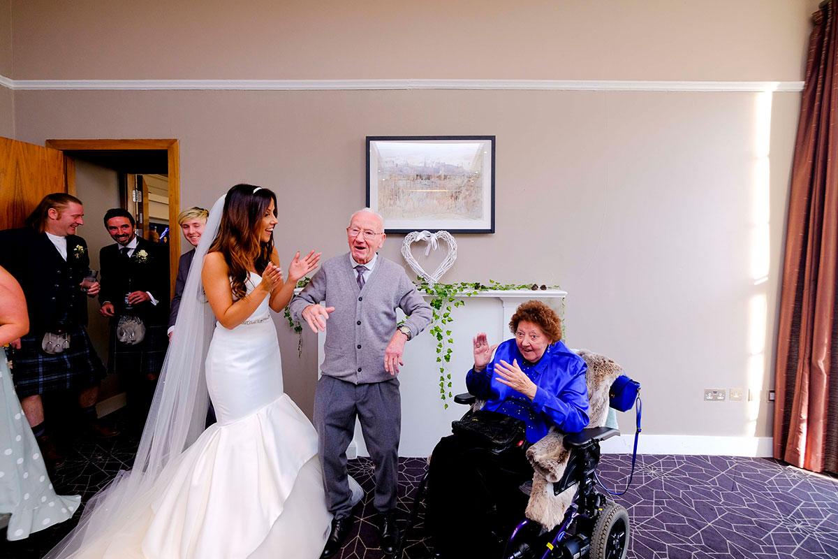 bride-with-granny-grandpa-apex-hotel