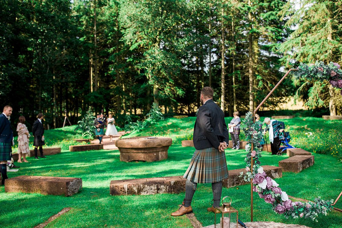 Hemera Visuals Dalswinton outdoors wedding
