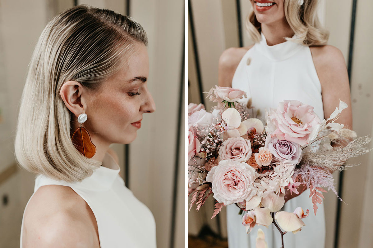 Anatomy Rooms Aberdeen wedding Emma Lawson Photography Ivory Grace Kim Dalglish flowers