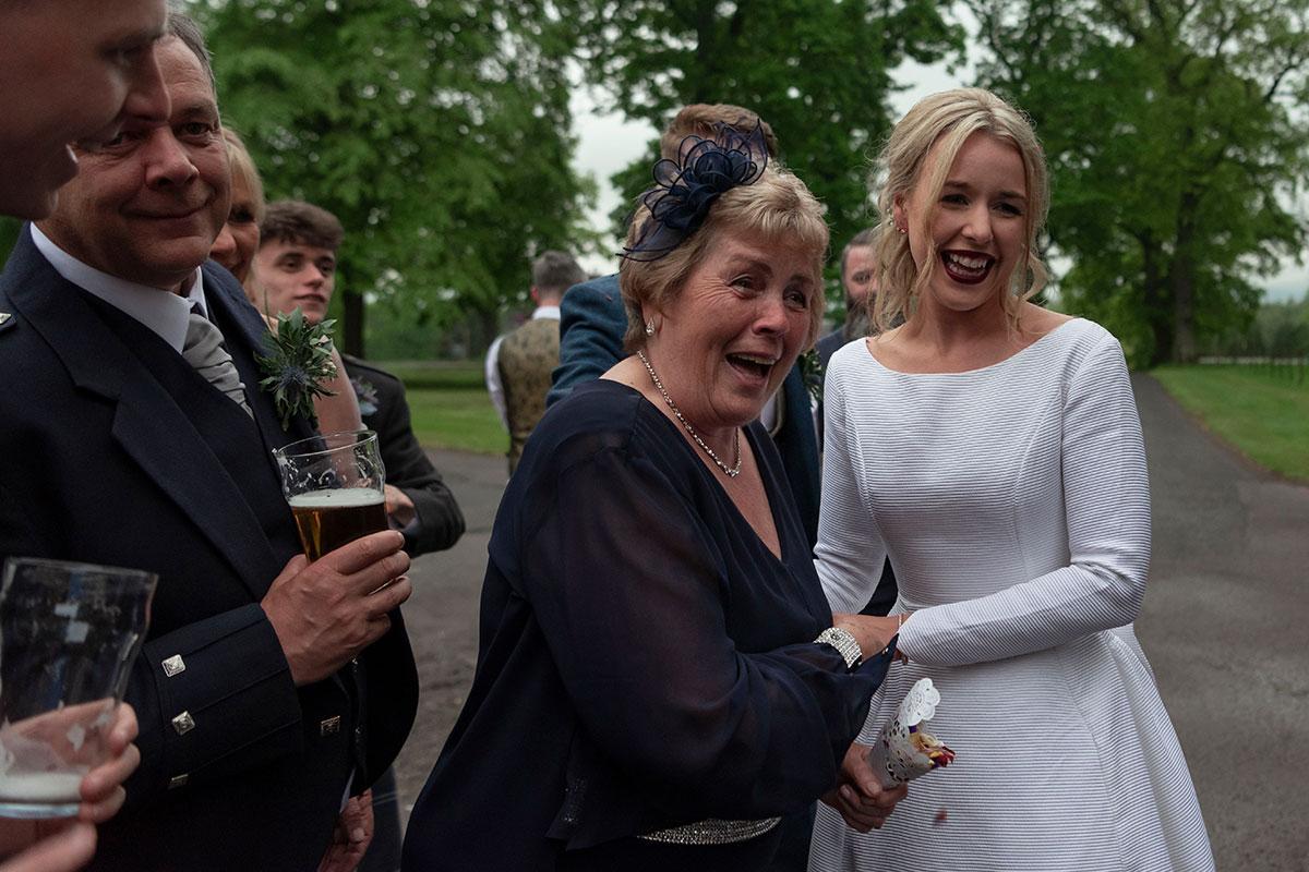 bride-surprise-granny-wearing-dress
