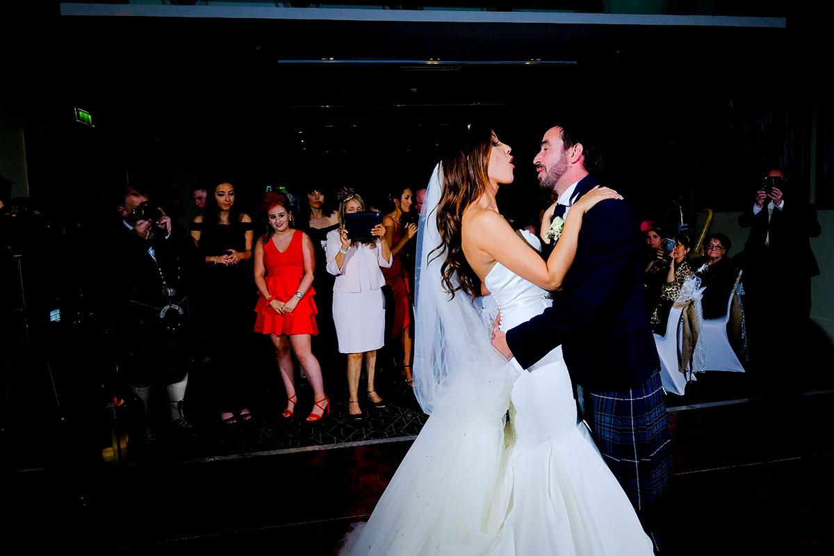 bride-groom-first-dance-apex-hotel