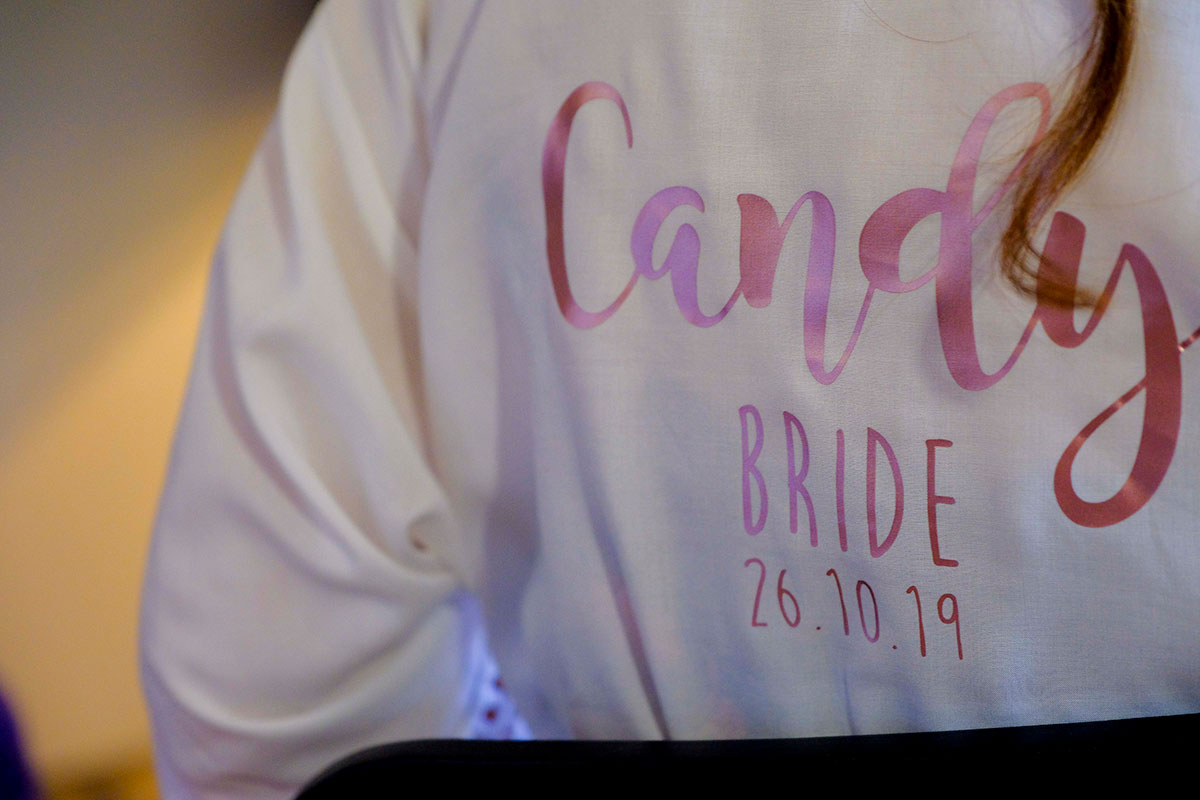 bride-wearing-personalised-robe