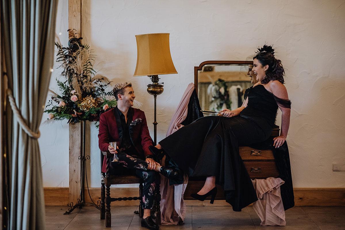 Roodlea-Barn-autumn-gothic-halloween-barn-wedding-bride-groom