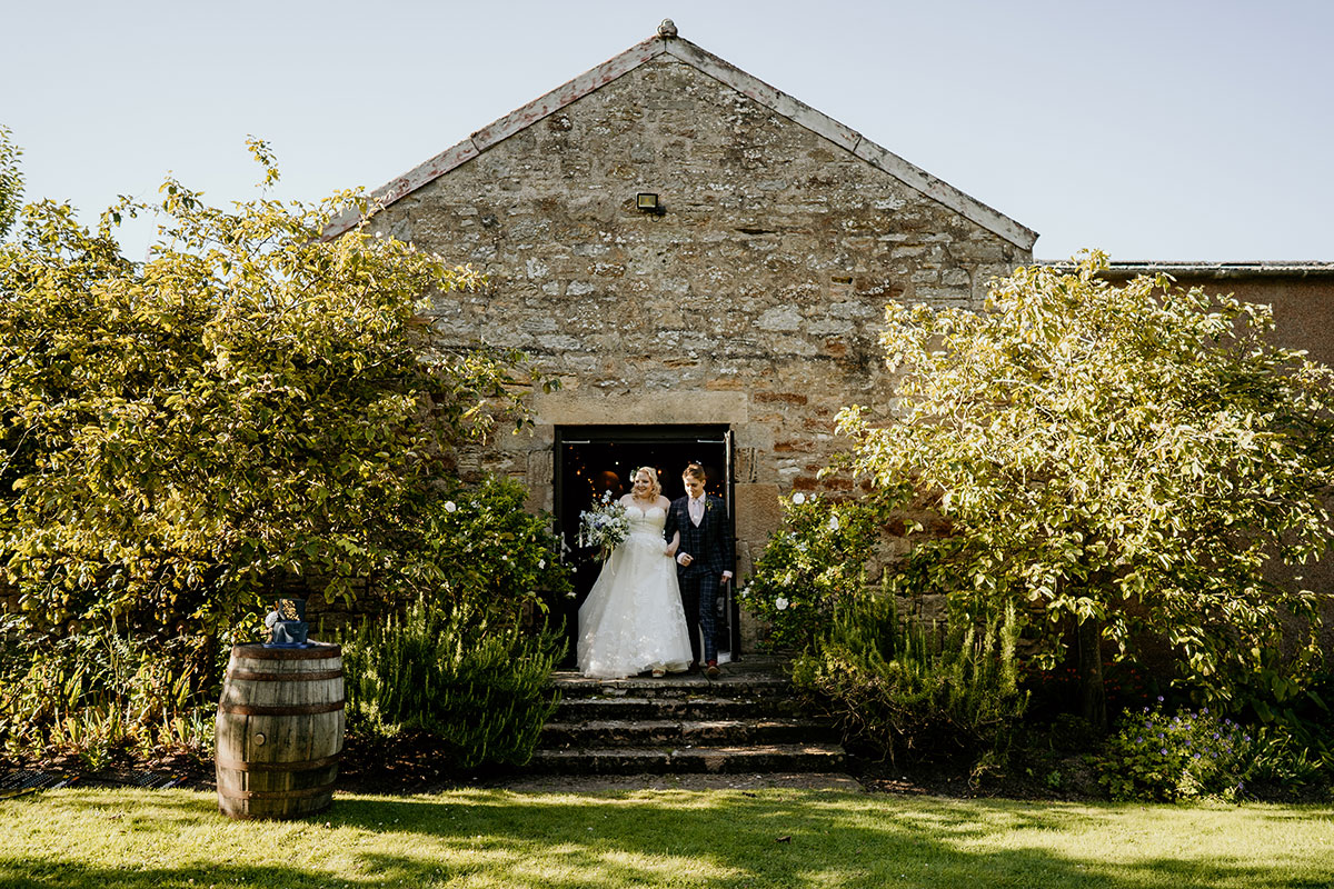 bride-given-away-kinkell-byre-victoria-photography