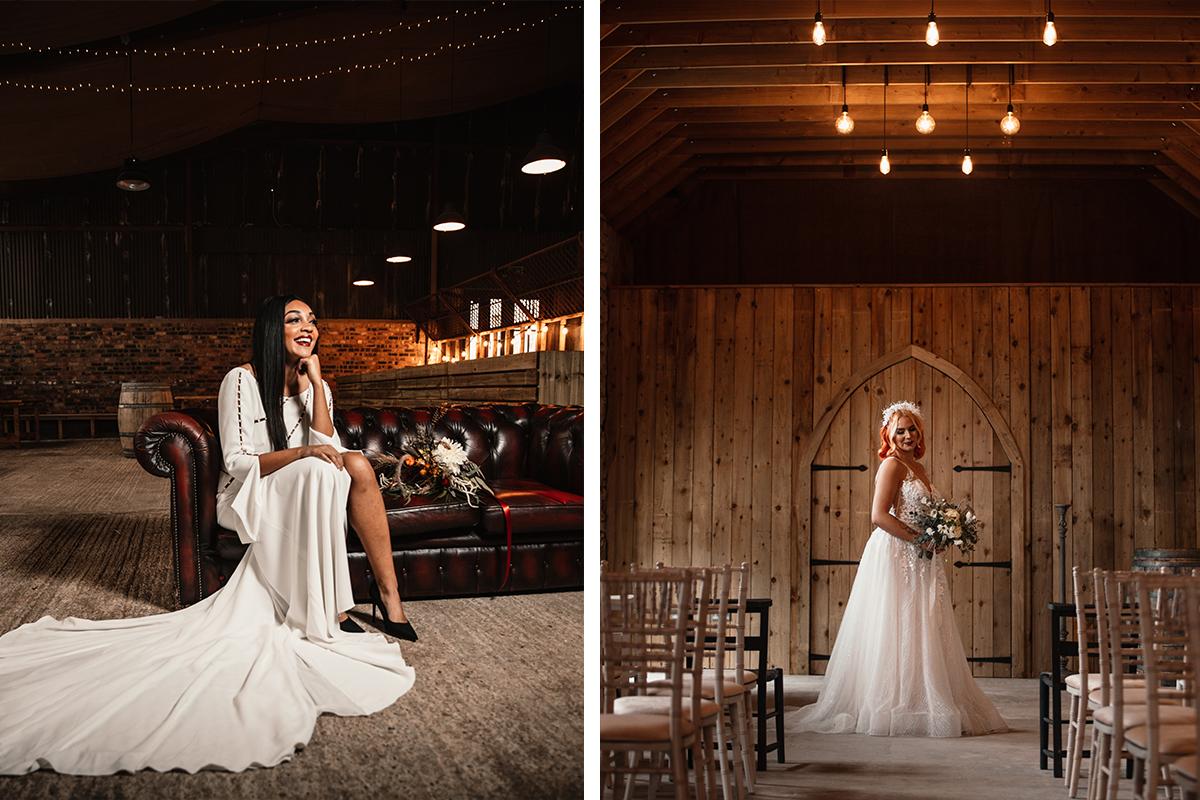 Amy King Bridal dresses
