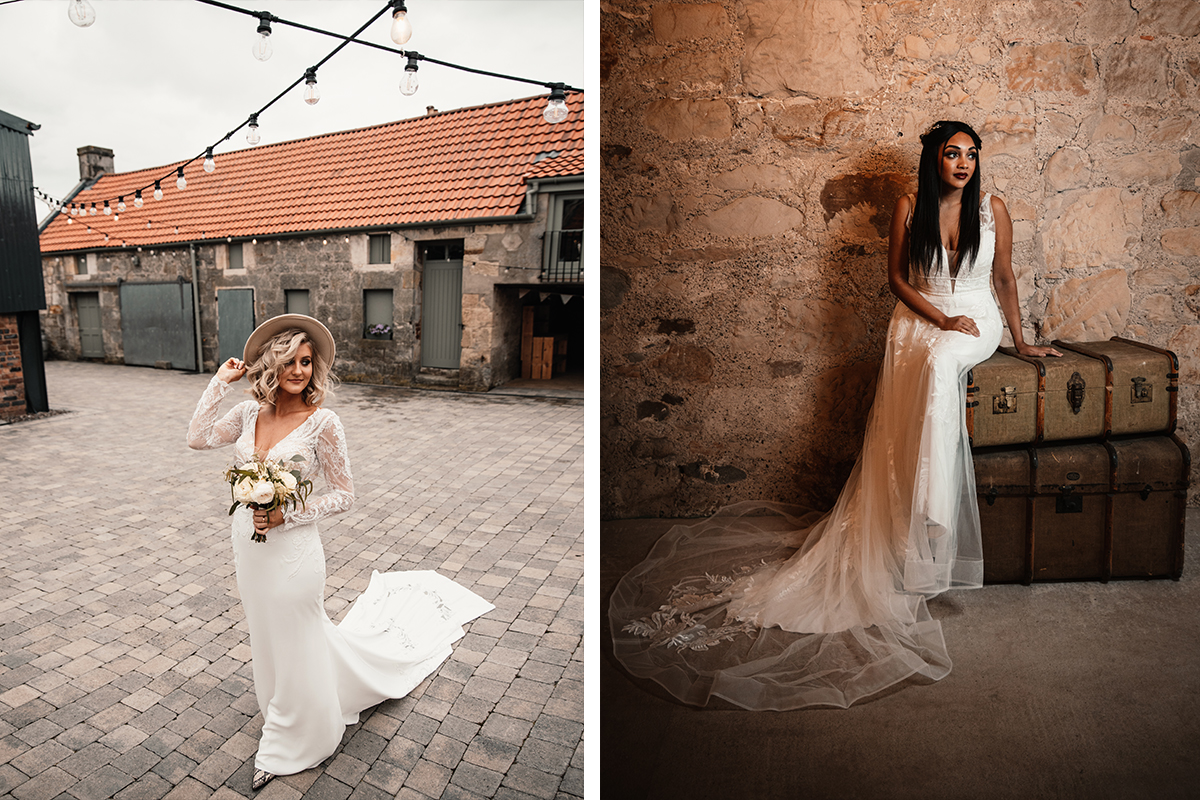Amy King Bridal dresses at The Den at Culross