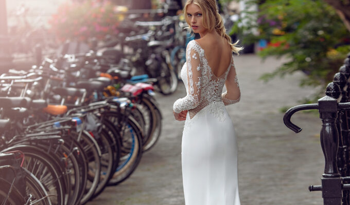Kensi gown by Modeca