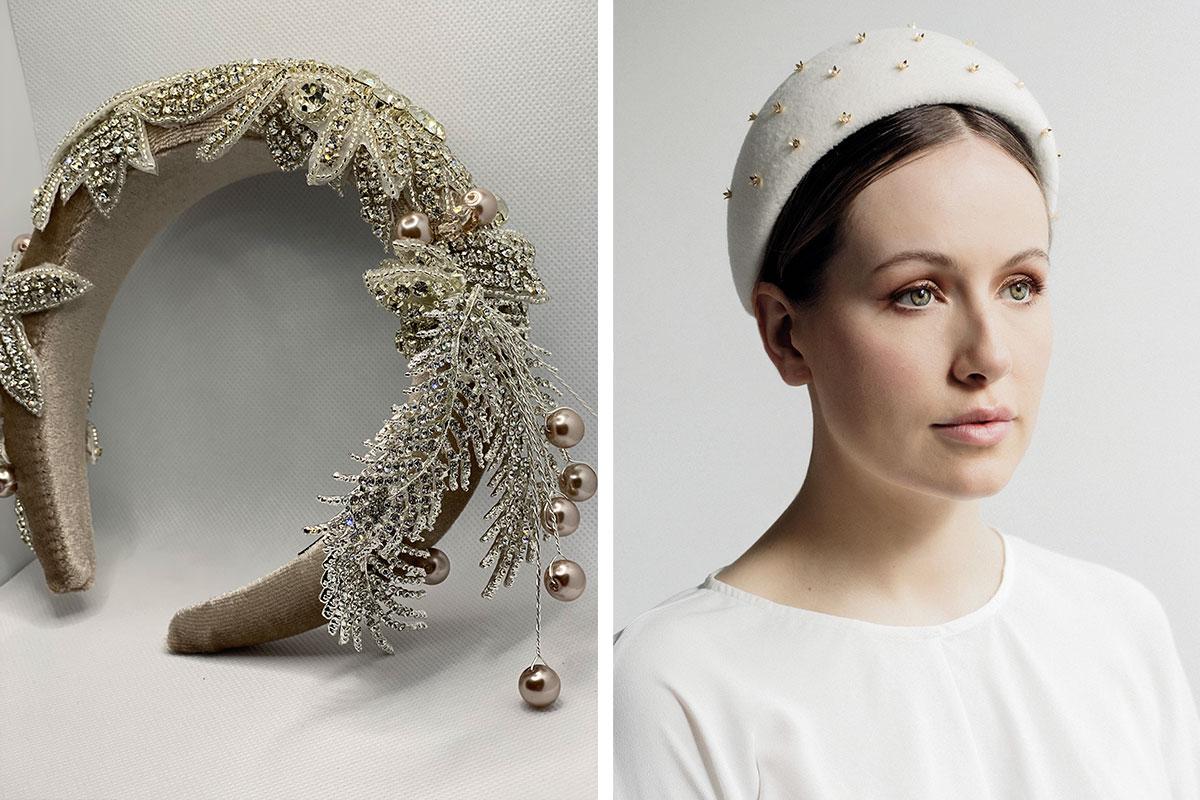 Headbands by MD Handmade Headbands and Maggie Mowbray Millinery