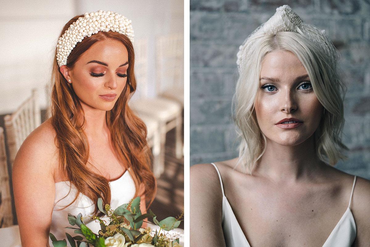 Headbands by Polly Reid and Ashley Wild Bridal