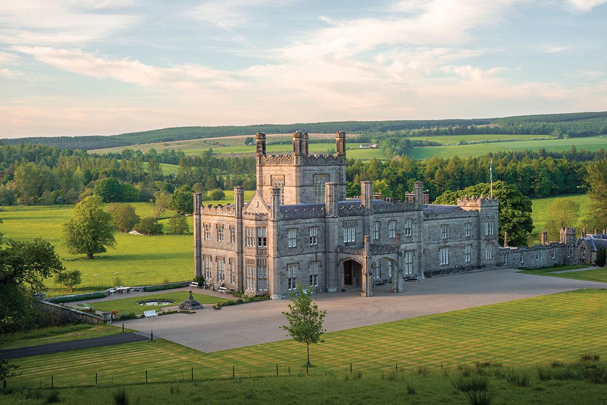 Blairquhan Castle exterior