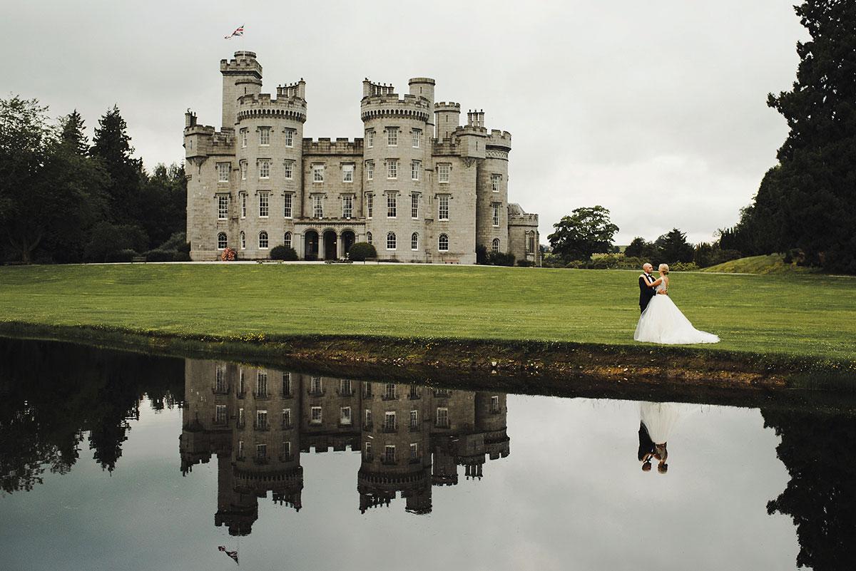 Cluny Castle Aberdeenshire wedding venue