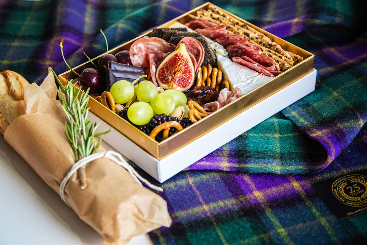 Platter & Pop wedding grazing tray