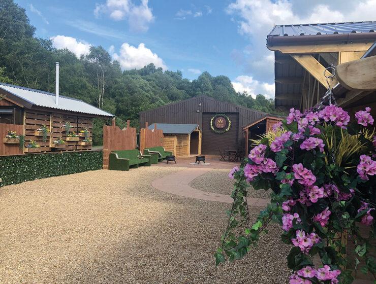 Eden Leisure village outdoor space