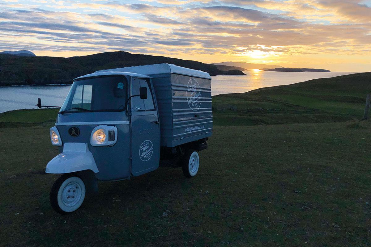 Wild Highland Drinks Co.'s Wee Dram Van