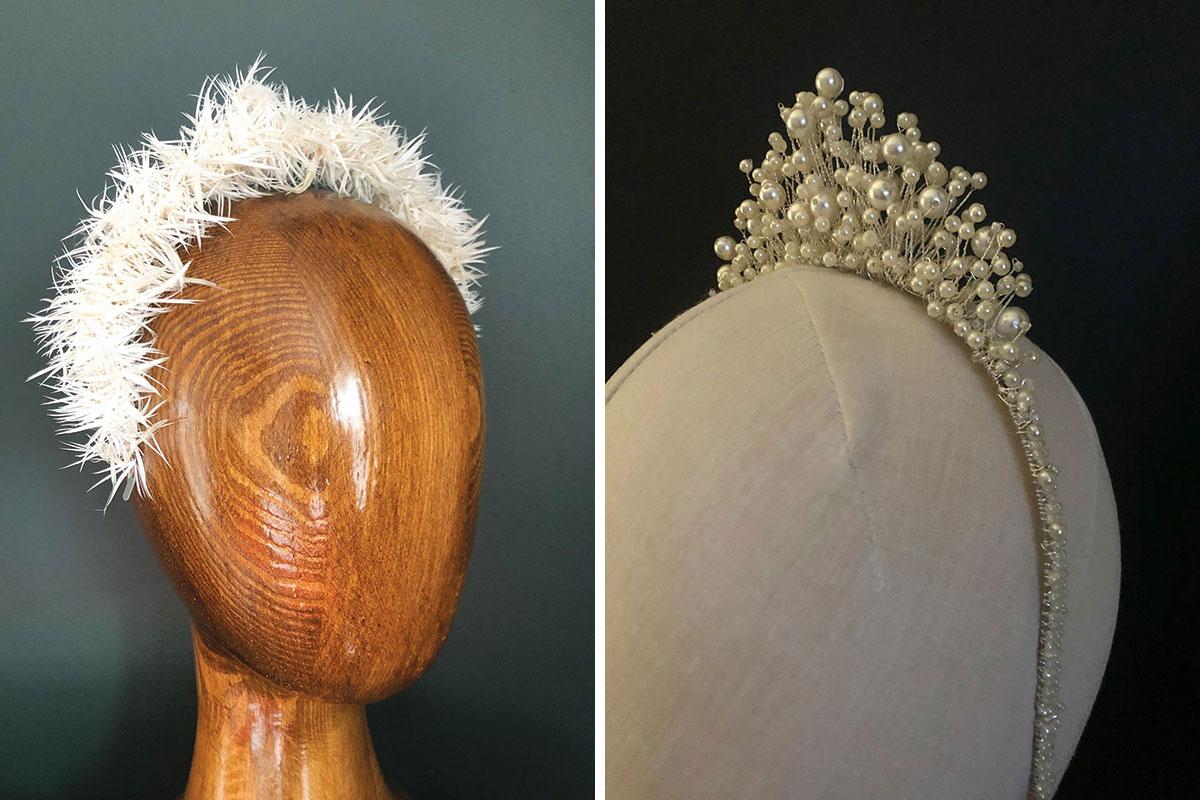 Jennifer Rowley bridal headbands