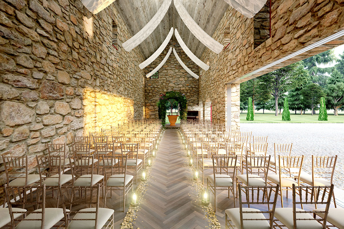 Artist's impression of the new ceremony room