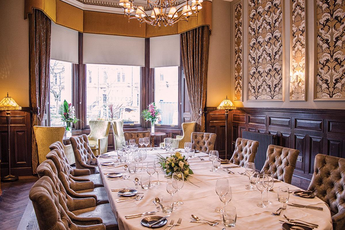Private dining at The Bonham