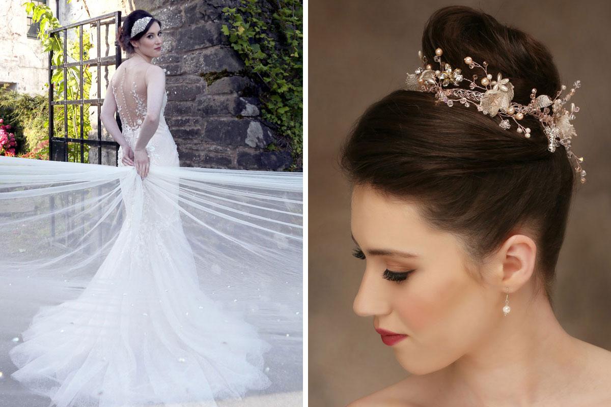 Bridal headpieces by Baba-C Designs